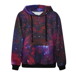 Wholesale Long Pics - Fashion 3d print classic galaxy painting hoodie all kinds of pic vivid paint boys girls cool sweatshirt high quality smooth material cloth