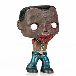 Wholesale Walks Dragon - Imperfect Funko Pop Second -Hand Tv Series The Walking Dead Michonne Pet Walker 2 Zombie Figure Decorative Model Toy Cheap No Box