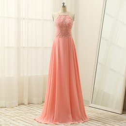 Wholesale Free Portrait Pictures - 2017 Free Shipping Chiffong Beaded Spaghetti Off Shoulder Sleeveless Backless A Line Floor Length Major Beading Evening Dress