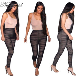 1dacdedf81 Wholesale- 2017 Keller jenner Jumpsuit overalls for women Black pants  sleeveless sexy bodycon long jumpstuis high waist plus size clothing