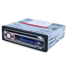 Wholesale Car Dvd Player Remote - Wholesale- 2016 Recommended Black 564U 12V Car Audio Stereo FM Electronic Components Support USB SD DVD Mp3 Player AUX with Remote Control