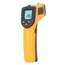 Termómetro infrarrojo GM320 Non Contact Laser Gun infrarrojo IR termómetro LCD pantalla digital -50 ~ 330 grados envío rápido desde fabricantes