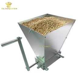 Wholesale Food Rollers - 2017 Newest Stainless Rollers & Factory Price For Amazing Homebrew Malt Mill Grain Mill Grain Crusher Wholesale