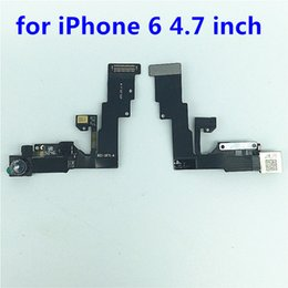 Wholesale Iphone Front Cam - New High Quality Front cam For iphone 6 plus 6S plus Front Camera Flex Cable Rear Facing With Light proximity Sensor Part inch