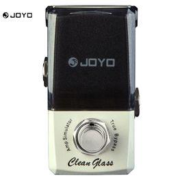 Wholesale Joyo Mini Guitar Amp - JOYO JF-307 Clean Glass Amp Simulator Mini Electric Guitar Effect Pedal with Knob Guard True Bypass