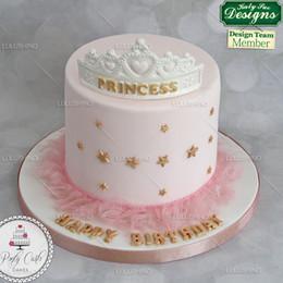 Wholesale Wholesale Gum Paste - Wholesale- Quality sugar tool New queen princess crown silicone fondant decorating tool gum paste cake mold