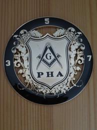 Masonic Auto Car Badge Emblems mason E28 INTERNATIONAL ORDER OF DeMOLAY black