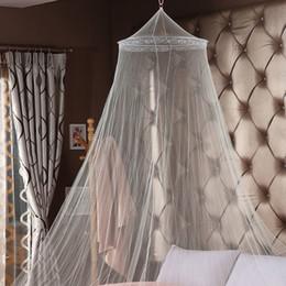 ropa de cama princesa moderna Rebajas Venta caliente de verano! Buena durmiente agraciado elegante cama cortina red Canopy Mosquito Net envío gratis WA2560