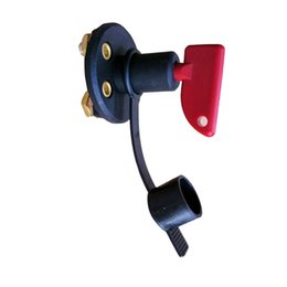 Wholesale Auto Key Cutting - Auto Battery Disconnect Kill Cut Off Sitch Solid Brass 2 Removable Keys