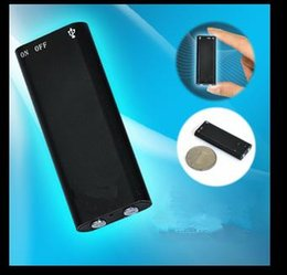 Wholesale Voice Recorder Wholesale - Wholesale-Real Capacity 8GB USB Disk Digital Audio Voice Recorder One Button Voice Activated Sliding USB Dictaphone Pen Drive