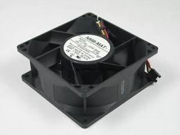 2019 ventilateur 12v supposé NMB 3615RL-05W-B49 EQ2 DC 24V 0.73A 3 fils connecteur à 3 broches 90X90X38mm Serveur Ventilateur de refroidissement carré