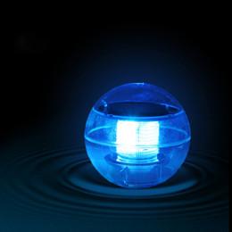 luces solares azules blancas rojas Rebajas Luces de juguete Luz solar de decoloración de agua Luces LED impermeables para piscina Luces de ambiente festivo Amarillo / rojo / blanco / verde / azul / colorido