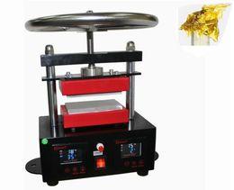"Wholesale Automatic Plate - rosin heat press Professional Rosin Press Hand Crank Duel Heated Plates (2.4"" x 4.7"" plates) 6x12cm plates LLFA"