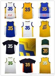 Wholesale T Cheap Basketball - 2017 Men Rev 30 #35 D t Jerseys Cheap youth Kid #35 D t Basketball jersey sales 100% stitched embroidery logo free shipping