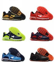 Wholesale Lighting Nano - 2017.5 MAX Running Shoes 2017 shoes 46 Generations Of New Fine Nano Plastic Blowout Fracture Man Breathable Running Shoes.