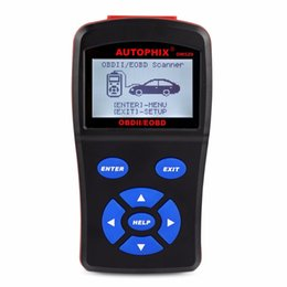 Wholesale Best Automotive Diagnostic Scanner - 2017 Best Automotive Diagnostic Scanner OBDMATE OM520 OBD1 EOBD JOBD CAN Scan Tool for Universal Cars Fault Code Free Update
