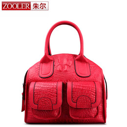 Wholesale Limited Edition Cell Phones - Wholesale- ZOOLER Brand 2016 New genuine leather bag Special limited edition woman leather handbags Vintage High end luxury bag #3610