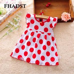 Vente en gros- Robes de bébé 0-2 année Filles Infantile Coton Vêtements A-ligne Robe infantil Vêtements à manches courtes Imprimé Fille Enfants Casual Dress ? partir de fabricateur