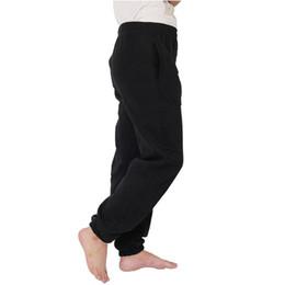 Wholesale Wide Leg Sweat Pants - Wholesale-Warm Men's Sweatpants Man Sportswear Trousers Joggers Pants Plus Size XXXL Wide Legs Sweat Pants Clothing sweat pants Male