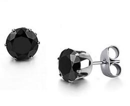 d9e4438332f9 Adornos de pendiente de acero de titanio se venden como pasteles calientes Pendientes  de acero de titanio de la edición Han