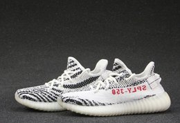 Wholesale Cheap Women Tennis Shoes - New Men's Women Hot sports Boost 350 V2 white zebra limited coconut CP9654 big talker Sports Shoes Cheap sales High quality Free Shipping