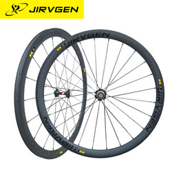 Wholesale Cycling Road Wheels Carbon - 2017 JIRVGEN Toray 700 carbon fiber road bicycle wheels 38 racing carbon wheels with novatec 271 hubs cycling parts