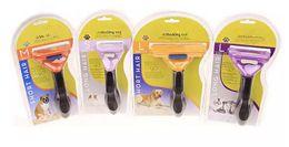 Wholesale Cat Hair Types - Pet Brush for Dog and Cat de Shedding Tool Grooming Yellow Long Hair Short Hair Expert Brush