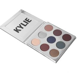 Wholesale Lip Glitter Wholesale - kylie holiday edition eyeshadow Kylie holiday collection Jenner Christmas Edition lip kit Gold Metal Matte lipstick DHL