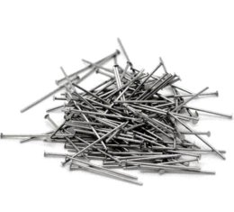 Wholesale Head Pins For Jewelry Making - LASPERAL 500PCs Silver Tone Stainless Steel Head Pins Pins For Jewelry Making DIY Jewelry Findings Components 0.7x20mm