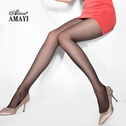 Wholesale Pantyhose T - Wholesale- 2Pcs lot Sexy Women Pantyhose 2016 New Spring 20D T Panty Ultra-Thin Stockings Ladies Tights Hight Elastic Female Pantyhose 702