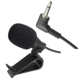 Wholesale Best Pc Audio - Best Price PVC 3.5 mm Wired Stereo Jack Mini Car Microphone External Mic For PC Car DVD GPS Player Radio Audio Microphone