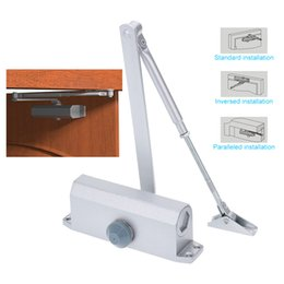 Wholesale Arm Door - Wholesale- High Quality 45-65KG Door Closer Automatic Hydraulic Arm Mini Door Closer Mechanical Speed Control Home Office