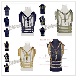 Wholesale Uniform Ribbons - Tactical tactical portable equipment manufacturers selling outdoor ribbon army fan breastplate vest pure color combat uniform