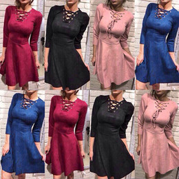 Wholesale Rhinestone Dress For Club - sexy dress club wear 2017 vestido festa slip dress V collar waist sexy tight bandage dress for women dashiki dresses