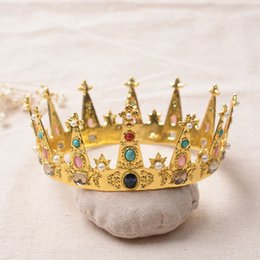 Wholesale Tiaras For 15 - Wholesale Luxury Royal Rhinestons Wedding Crowns Quinceanera Tiaras for Sweet 15 Years Girl Prom Pageant Hair Accessories Headpieces