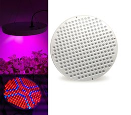 Wholesale Ufo Lights For Indoor Plants - 50W UFO LED Grow Light Lamp 250LEDs Red&Blue Unique Round Shap for Hydroponics Indoor Plant Garden Greenhouse