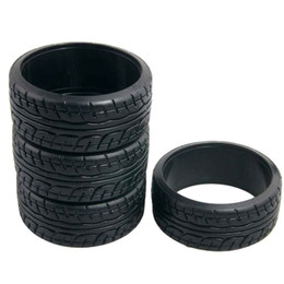 Wholesale Rc Drifting Cars - 4pcs RC Racing Speed Drift Tires 26mm Hard Tyre 1:10 On-Road Drifting Car 9014