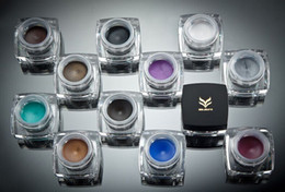 Wholesale Shade Gel - The flying cloud 12 different color eyeliner Eyeliner gel Pearl Matte No shading DHL free shipping