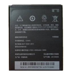 Wholesale Battery For Desire - Wholesale Genuine Extra Recylable Replacement battery BOPBM100 for HTC Desire D616W v3 v3 d616d H mobile phone battery 2000mah