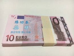 Wholesale Pet Movies - Earliest edition Money banknote currency EUR10 for Movie props and Education bank staff training paper children gift play money