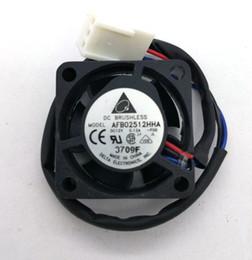 fans del servidor delta Rebajas Ventilador de refrigeración del servidor original Delta AFB02512HHA 25 * 25 * 10MM 12V 0.12A para SUN 370-5126 V240 V210 P / N: 3705126-01