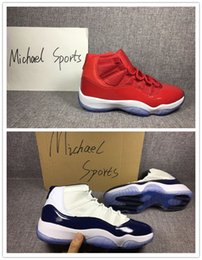 Wholesale Retro 11 Size 13 - retro 11 UNC Chicago gold concord gamma Legend blue 11s bred basketball shoes sneakers 11 XI men Outdoor sports shoes sizes 8-13