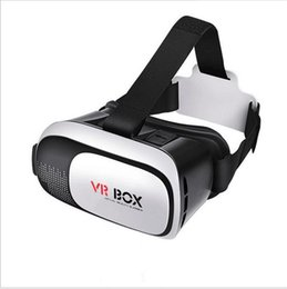 Wholesale Smartphone Retail Box - VR Box 2.0 + Gamepad Virtual Reality 3D Glasses Helmet VR BOX Headset For Smartphone 3.5 inch ~ 6 inch with Retail Package DHL free shipping