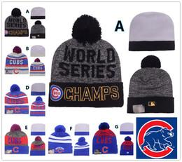 Wholesale Cheap Wholesale Chemicals - NEW HOT Sport KNIT MLB CHICAGO CUBS Baseball Club Beanies Team Hat Winter Caps Popular Beanie Wholesale Fix Cheap Gift Present