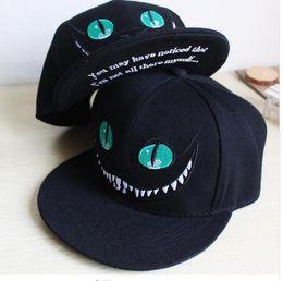 Wholesale Bug Hats - Alice in Wonderland Cheshire Cat cartoon snapback hats BUGS BUNNY SYLVESTER cap for Men Women snap back Baseball cap