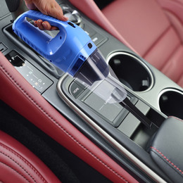 Wholesale 12v Portable Vacuum - 2016 Portable Car Vacuum Cleaner Wet And Dry Dual Use With Power 120W 12V 5 m of cable, super absorb car waste Free Shipping