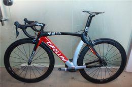 Wholesale Mcipollini Carbon - Hot sale full carbon road bike Mcipollini RB1000 complete bike cipollini carbon bike Ultera 6800,handlebar,saddle,wheels