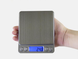 Wholesale Digital Scales Free Shipping - 1PCS 500g x 0.01g Digital Pocket Scale Jewelry Weight Electronic Balance Scale g  oz  ct  gn Precision Free Shipping