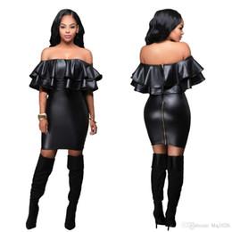 2016 Sexy Mulheres Casuais Vestidos de Festa Elegante Slash Pescoço Noite Lápis Bainha Night Club Vestidos frete grátis de