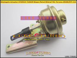 2019 turbo wastegate Turbo Wastegate-Antrieb GT2052V 724639-5006S 724639 705954 Turbolader für NISSAN Patrol Mistral Y61 ZD30 ZD30ETi ZD30DTI 3.0L rabatt turbo wastegate